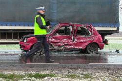 Brudzew: Wideo: Spowodowała niebezpieczną kolizję i straciła prawo jazdy....