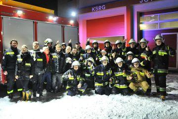 Bezpiecznych świąt życzą druhowie OSP Turek....