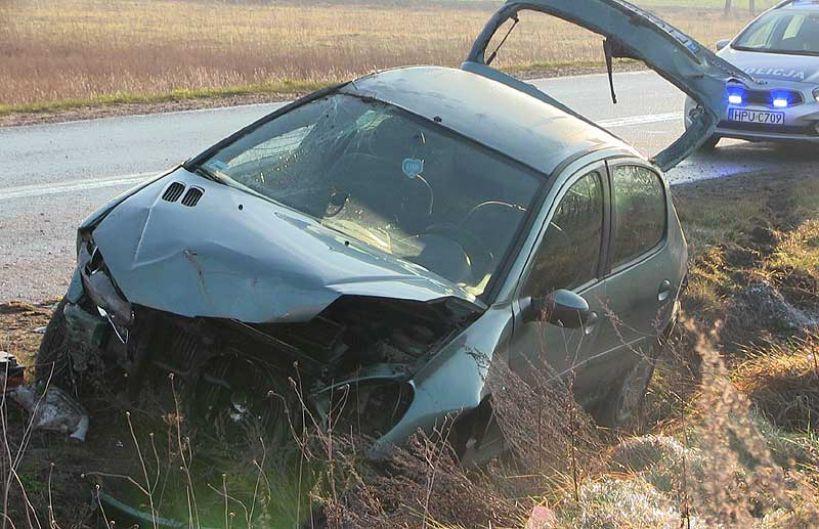 Wideo: Peugeotem do rowu. Kobieta w ciąży trafiła do szpitala