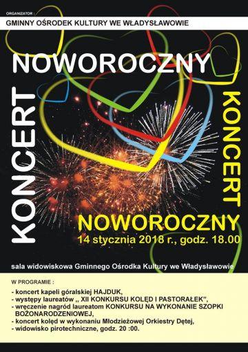 Władysławów: Będzie Hajduk, będą kolędy. Koncert Noworoczny już 14 stycznia