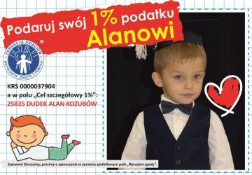 1% dla Turku: Przeczytaj historię małego Alana....