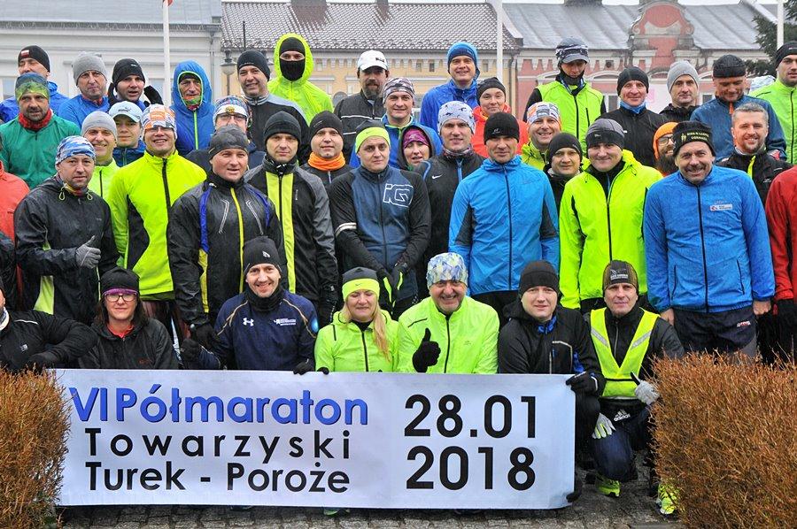 Wystartował VI Półmaraton Towarzyski - foto: M. Derucki