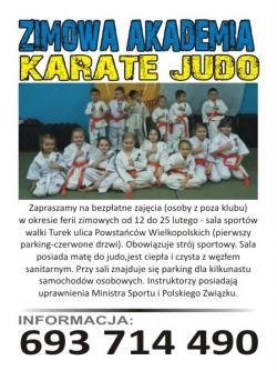 Zimowa Akademia Karate Judo