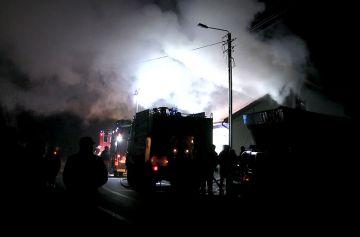 Wideo: Pożar budynku mieszkalnego w Koźminie...
