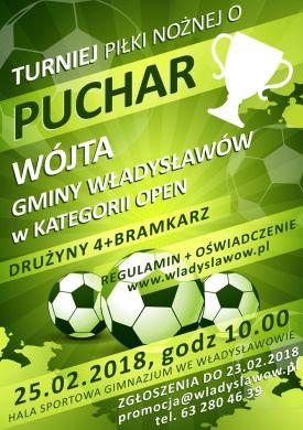Turniej Piłki Nożnej o Puchar Wójta Gminy Władysławów