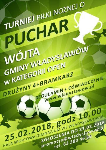 Turniej Piłki Nożnej o Puchar Wójta Gminy...