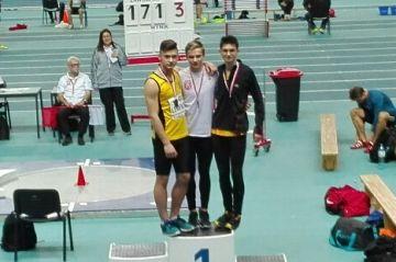 Jakub Lempach Wicemistrzem Polski w biegu na 60...