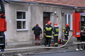Turek: Pożar na Żeromskiego. Przyczyną gaz czy...