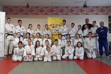 Tuliszkowscy judocy na sportowym obozie
