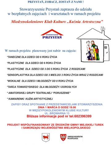 Zajęcia i warsztaty w MKK