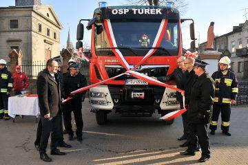 OSP Turek: Nowy wóz bojowy przekazany i poświęcony