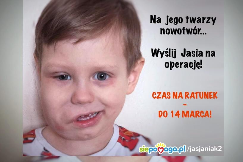 Jaś z Władysławowa chce pokonać chorobę. Wesprzyjmy go - foto: www.siepomaga.pl/jasjaniak2