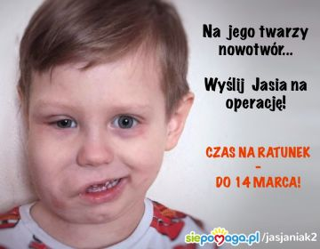 Jaś z Władysławowa chce pokonać chorobę. Wesprzyjmy go
