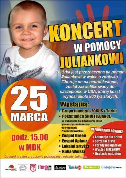Koncert w Pomocy Juliankowi