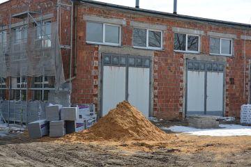 Kaczki Śr: Trwa budowa nowego budynku...