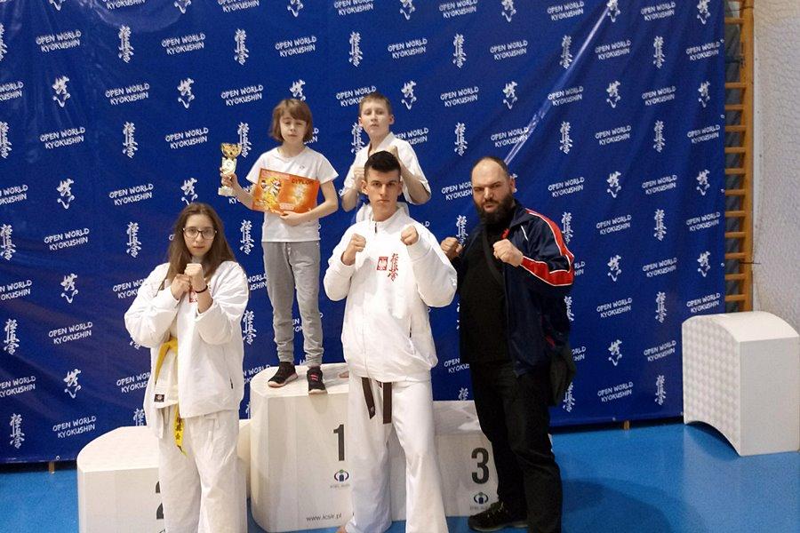 Karate: Turniej w Józefowie