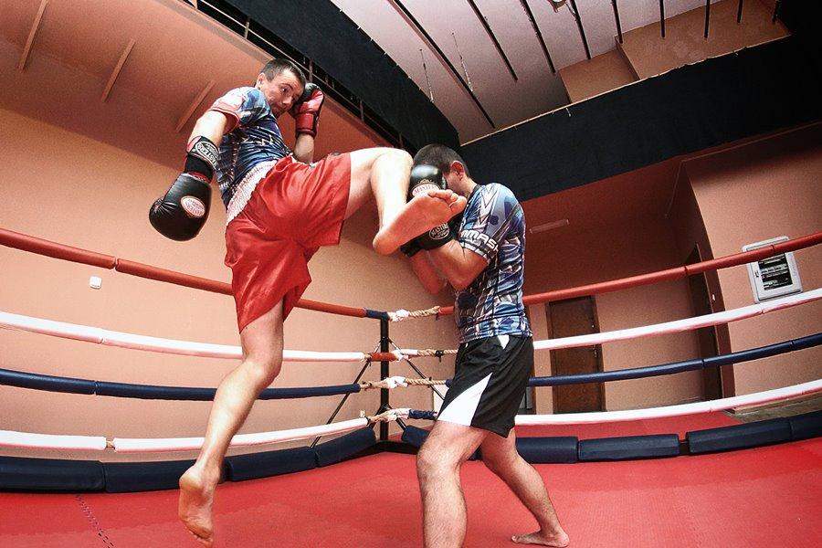 Wojownicy Kamila Więcławka, czyli kickboxing po turkowsku - foto: archiwum stowarzyszenia Stiker