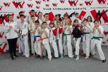 Turkowscy karatecy na turnieju w Kobierzycach