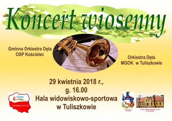 Koncert wiosenny w Tuliszkowie