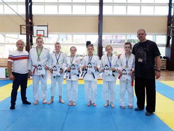 Judocy na turnieju w Obornikach Śląskich