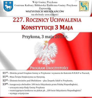 Obchody 3 Maja w Przykonie