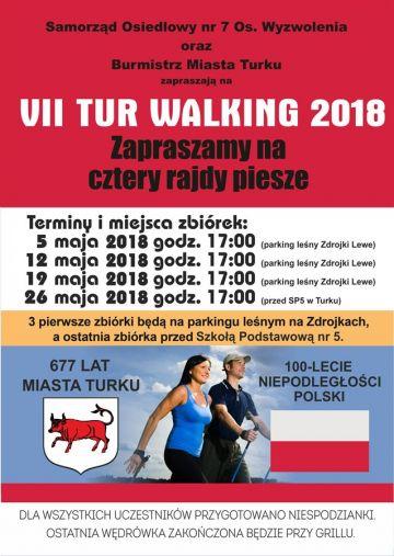 Rajd pieszy - Tur Walking