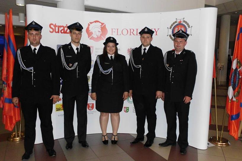 Nagrodzili OSP Malanów Florianami 2018