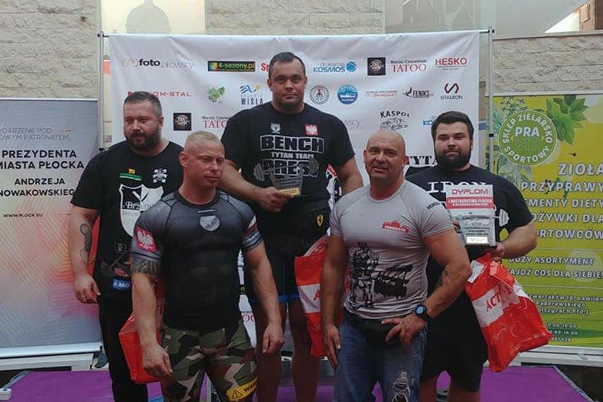Zobacz jak turkowski Tytan wycisnął 240 kg - foto: facebook.com/kondzioactivlab/