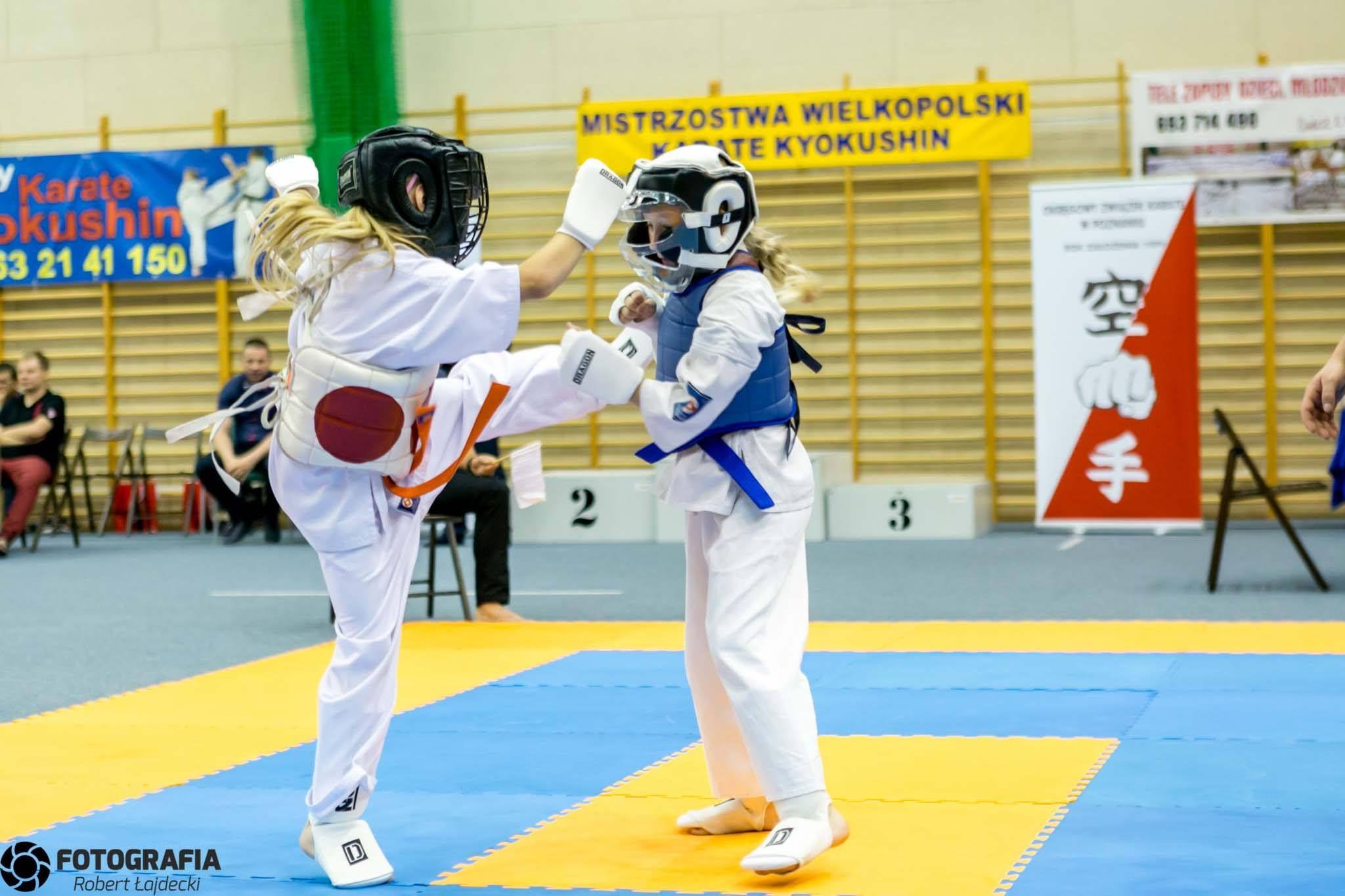 Turek: XIX Mistrzostwa Wielkopolski Karate - foto: Robert Łajdecki