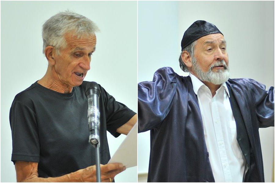 Noc w turkowskiej bibliotece: Fedorowicz i Waleryś oczarowali turkowian - foto: M. Derucki