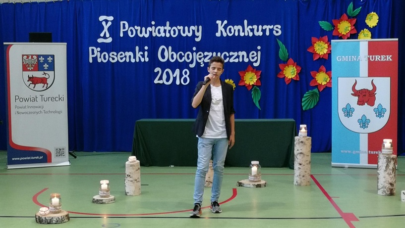 X Powiatowy Konkurs Piosenki Obcojęzycznej - Słodków 2018