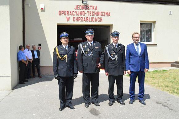 Brudzew: Chrząblice: OSP weszła do Krajowego Systemu Ratowniczo-Gaśniczego