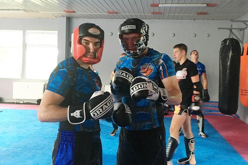 Striker Turek na sparingach Muay Thai w Poznaniu